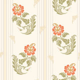 Traditional Chinese floral seamless  pattern for your design.  Background. Vector. Stock Image
