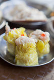 Traditional chinese food. Dim Sum steamed dumpling Stock Images