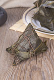 Traditional Chinese food - rice dumplings Royalty Free Stock Image