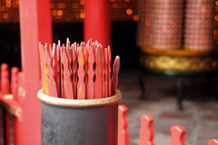 Traditional Chinese fortune sticks Stock Photo
