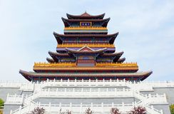 Traditional Chinese 1000-Fortune Tower Royalty Free Stock Photos