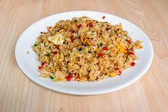 fried rice, chinese cuisine royalty free stock images