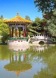 Traditional chinese garden Stock Images