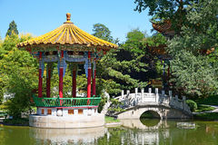 Traditional chinese garden Royalty Free Stock Photography