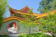 Traditional chinese garden Stock Photography