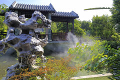 Traditional chinese garden Royalty Free Stock Photos
