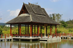 Traditional Chinese Garden Pavilion Royalty Free Stock Image