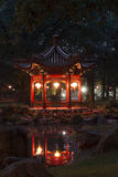 Traditional Chinese garden. Traditional Chinese garden in Warsaw, Poland Royalty Free Stock Photos