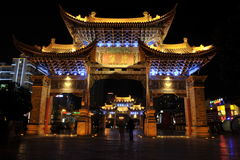 Traditional Chinese Gate Stock Images