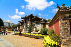 Traditional Chinese Gate Royalty Free Stock Images