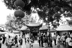 Traditional Chinese Gate Stock Photo
