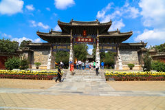 Traditional Chinese Gate Stock Photography