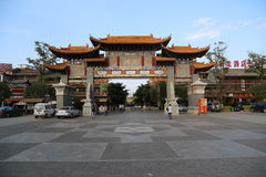 Traditional Chinese Gate Stock Image