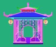 Traditional Chinese Gazebo Garden Pavilion Vector Stock Photos
