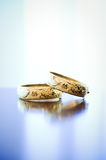 Traditional Chinese Gold Wedding Bracelet Stock Photography