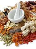 Traditional Chinese Herbal Medicine Stock Image