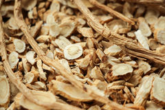 Traditional Chinese herbal medicine Stock Photos