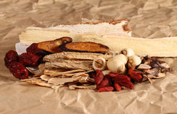 Traditional Chinese Herbal Medicine Stock Photography