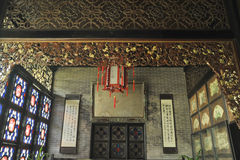 Traditional chinese house stock images