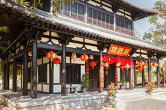 Traditional Chinese house Stock Photo