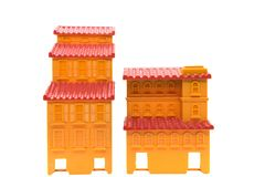 Traditional chinese house or hotel or temple  model or template Stock Image
