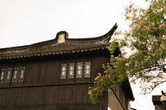 The traditional Chinese house in old town Shanghai, China Stock Images