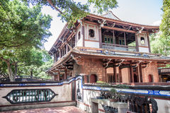Traditional Chinese house in Taiwan Stock Photography