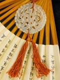 Traditional Chinese jade jewelry Stock Photo