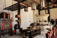 Traditional Chinese kitchen Stock Photography