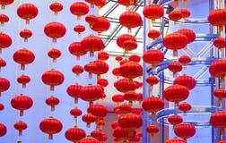 Traditional Chinese lanterns; Royalty Free Stock Photos