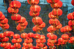 The traditional Chinese lanterns. Stock Image