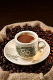 Traditional Chinese Local Coffee Royalty Free Stock Photography