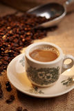 Traditional Chinese Local Coffee Stock Image