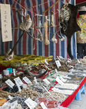 Traditional Chinese Medicine. All different kinds of traditional Chinese medicine for sale at the Third Month Fair, a 5,000 year old fair in Dali, Yunnan Stock Photo