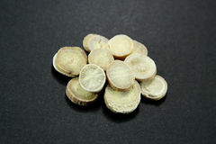 Traditional Chinese Medicine - Baishao (white peony root) Royalty Free Stock Photography