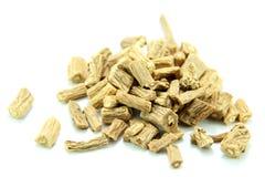 Traditional Chinese Medicine - Dangshen. (radix codonopsitis pilosulae Stock Image