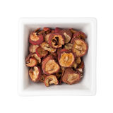 Traditional Chinese Medicine - Dried hawthorn fruit Stock Image