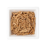 Traditional Chinese Medicine - Ginseng fiber (Panax ginseng) Royalty Free Stock Photography