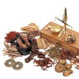 Traditional Chinese Medicine Selection Royalty Free Stock Image