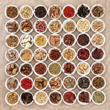Traditional Chinese Medicine Selection Stock Image