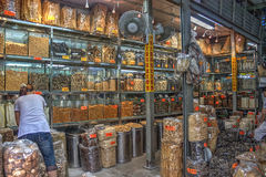 Traditional Chinese medicine shop Royalty Free Stock Images