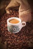 Traditional chinese nanyang style coffee Royalty Free Stock Photos