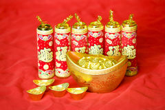 Traditional Chinese New Year decoration Royalty Free Stock Photography