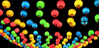 Traditional Chinese New Year Lantern. Thailand Royalty Free Stock Images