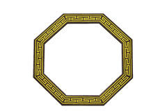 Traditional chinese octagon window Royalty Free Stock Photography