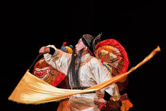 Traditional Chinese opera at Chang An Theater, Beijing, China Stock Photos