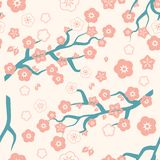 Traditional Chinese ornament with flowers and leaves. Can used for pattern fills, web page background,surface textures. Vector illustration royalty free illustration