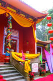 Traditional Chinese Pagoda - religious Stock Photo