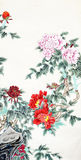 Traditional Chinese painting Stock Photo