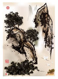 The traditional Chinese painting Stock Photo